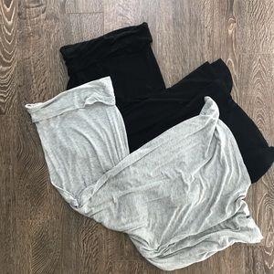 Bundle of Black and Light Grey Maxi Skirts